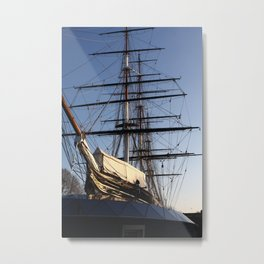 The Cutty Sark Clipper Metal Print