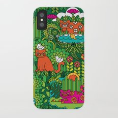 Lords of the Jungle Slim Case iPhone X