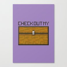 PAUSE – Check out my Chest Canvas Print