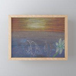 Save the Dolphins Framed Mini Art Print