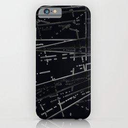 Neon Disco #3 iPhone Case