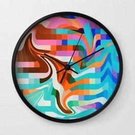 PixelWave2 Wall Clock