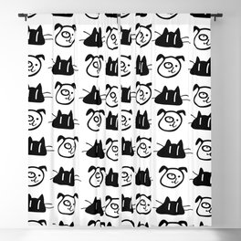 Love my pets Blackout Curtain
