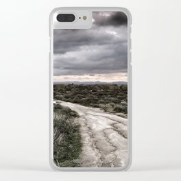 Potrero Creek Overcast Clear iPhone Case