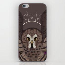 Familiar - Great Grey Owl iPhone Skin