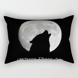 Seeing Wolves (Where There Are No Wolves) 05 Rectangular Pillow