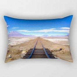 Bolivian Train Track Rectangular Pillow