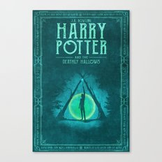 HP Book 7 (Book Cover) Canvas Print