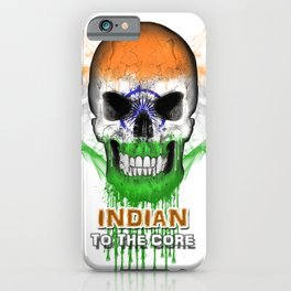 To The Core Collection: India iPhone Case