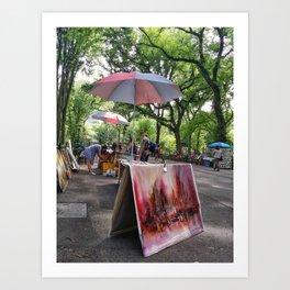 New York Days Art Print