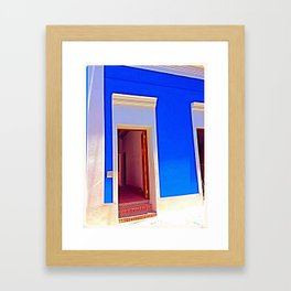 Old San Juan Framed Art Print