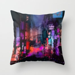 Unleashed Throw Pillow