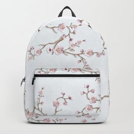 SAKURA LOVE - GRUNGE WHITE Backpack