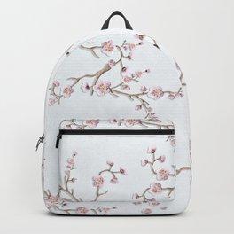 SAKURA LOVE - GRUNGE WHITE Backpack