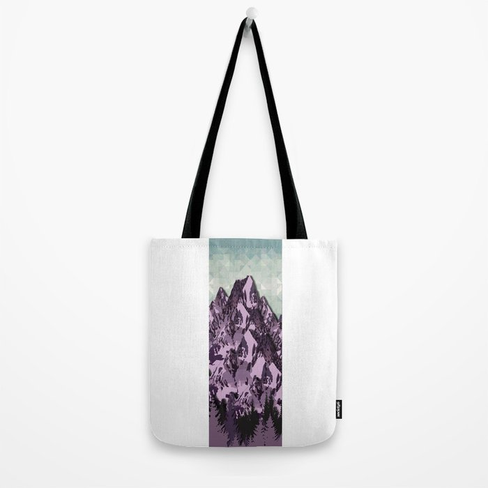 The Great, Great Night Mountain No. 7 Tote Bag