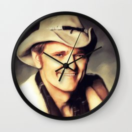 Jerry Reed, Music Legend Wall Clock