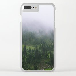 Valley of Heaven Clear iPhone Case