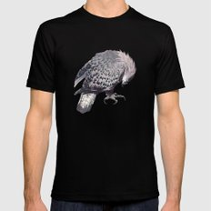 Eagle Mens Fitted Tee MEDIUM Black