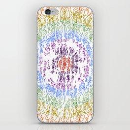 Rainbow Mandala Urban Decay Style - Vintage, Aged Pattern iPhone Skin