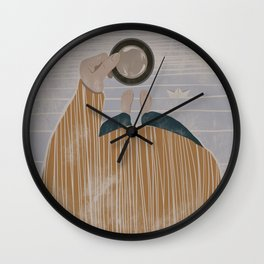 It is about the vivacity of the sea Wall Clock