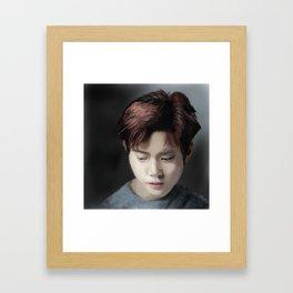 Exo Suho Fan Art Framed Art Print