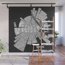 Vienna Map Wall Mural
