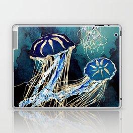 Metallic Jellyfish III Laptop & iPad Skin