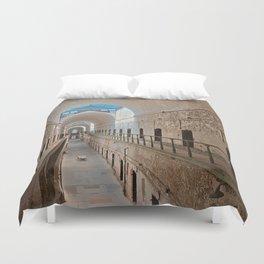 Abandoned Prison Corridor Duvet Cover