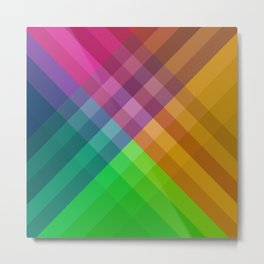 Rainbow colors 1 Metal Print