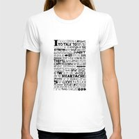 word T-shirts featuring Word by Etiquette