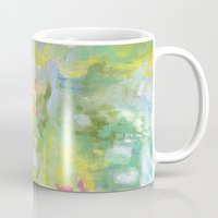 amelie Mugs featuring Amelie Abstraction by Annie Flynn