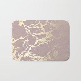Kintsugi Ceramic Gold on Clay Pink Bath Mat