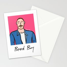Beard Boy: Jose Manuel Stationery Cards