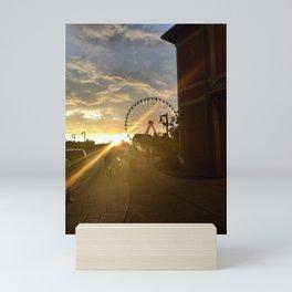"""Tennessee Sun Set"" Photography by Willowcatdesigns Mini Art Print"