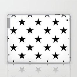 Stars (Black/White) Laptop & iPad Skin