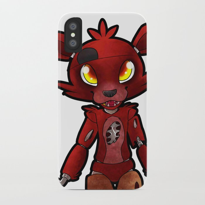 Fnaf Foxy Iphone Case By Draikinator Society6