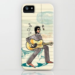 Bob Dylan iPhone Case