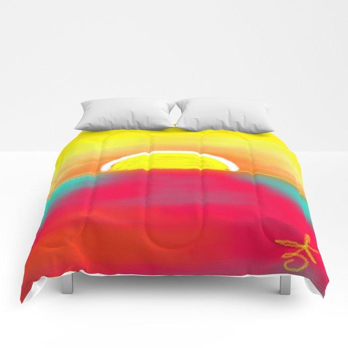 HOT SUNSET Comforters
