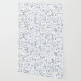 Grid in Grey Wallpaper