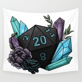 Mystic Class D20 - Tabletop Gaming Dice Wall Tapestry