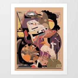 The IDONTKNOW Art Print