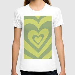 Love Power - leaf green T-shirt