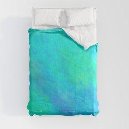 Cyan Color Comforters