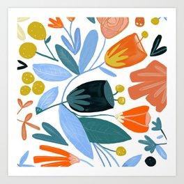 Funny Little Flower Art Print