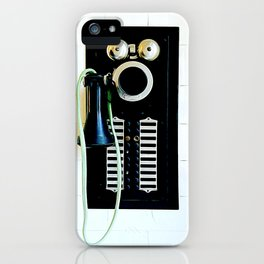 Wall Phone iPhone Case