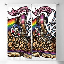 LGBTQ Pride-Themed | Pete Buttigieg | Boot Edge Edge Blackout Curtain