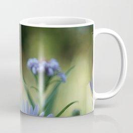 Mircro Blue flowers Coffee Mug