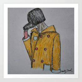 Caffeine Addict Art Print