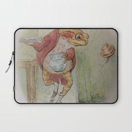 Jeremy Fisher by Beatrix Potter Laptop Sleeve