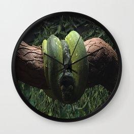 Green Boa Wall Clock